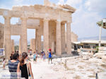 The propylaea of the Acropolis of Athens (Attica) Photo 2 - Photo JustGreece.com