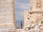 The propylaea of the Acropolis of Athens (Attica) Photo 3 - Photo JustGreece.com