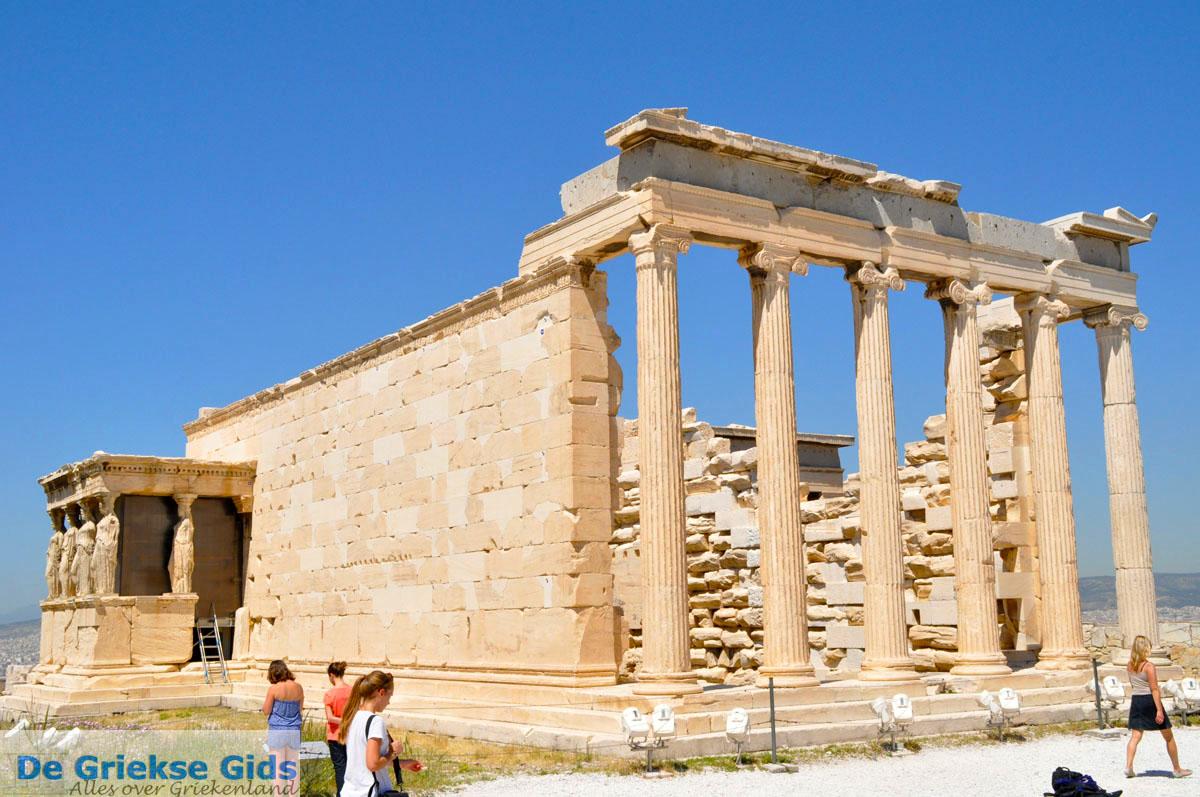 JustGreece Erechtheion Naast The Parthenon
