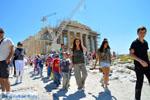 Schoolkinderen Parthenon Acropolis in Athens   Greece  Photo 1 - Foto van JustGreece.com