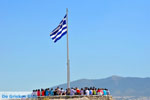Greek flag on the Acropolis in Athens | Greece  Photo 001 - Foto van JustGreece.com