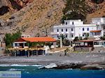 Taverna and appartementen at the beach of Agia Roumeli | Chania Crete | Greece - Foto van JustGreece.com