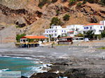 JustGreece.com View to the beach of Agia Roumeli | Chania Crete | Greece - Foto van JustGreece.com