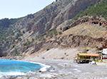 JustGreece.com The sandy-pebble beach Agia Roumeli Photo 1 | Chania Crete | Greece - Foto van JustGreece.com