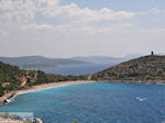 Rustig beach west coast  near Lithio - Island of Chios - Photo JustGreece.com