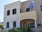 The gemeentehuis of Pyrgi - Island of Chios - Photo JustGreece.com