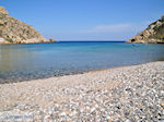 The rustige pebble beach Emborios - Island of Chios - Photo JustGreece.com