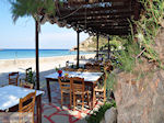 Taverna at beach Emborios - Island of Chios - Photo JustGreece.com