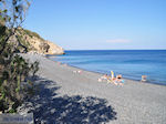 The zwarte beach of Emborios - Island of Chios - Photo JustGreece.com
