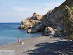 Mavra Volia beach in Emborios - Island of Chios - Photo JustGreece.com