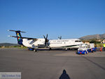 Vliegtuig Olympic Airlines on Chios - Island of Chios - Photo JustGreece.com