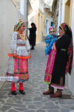 Traditionele klederdracht Olympos Karpathos | Greece  Photo 011 - Photo JustGreece.com