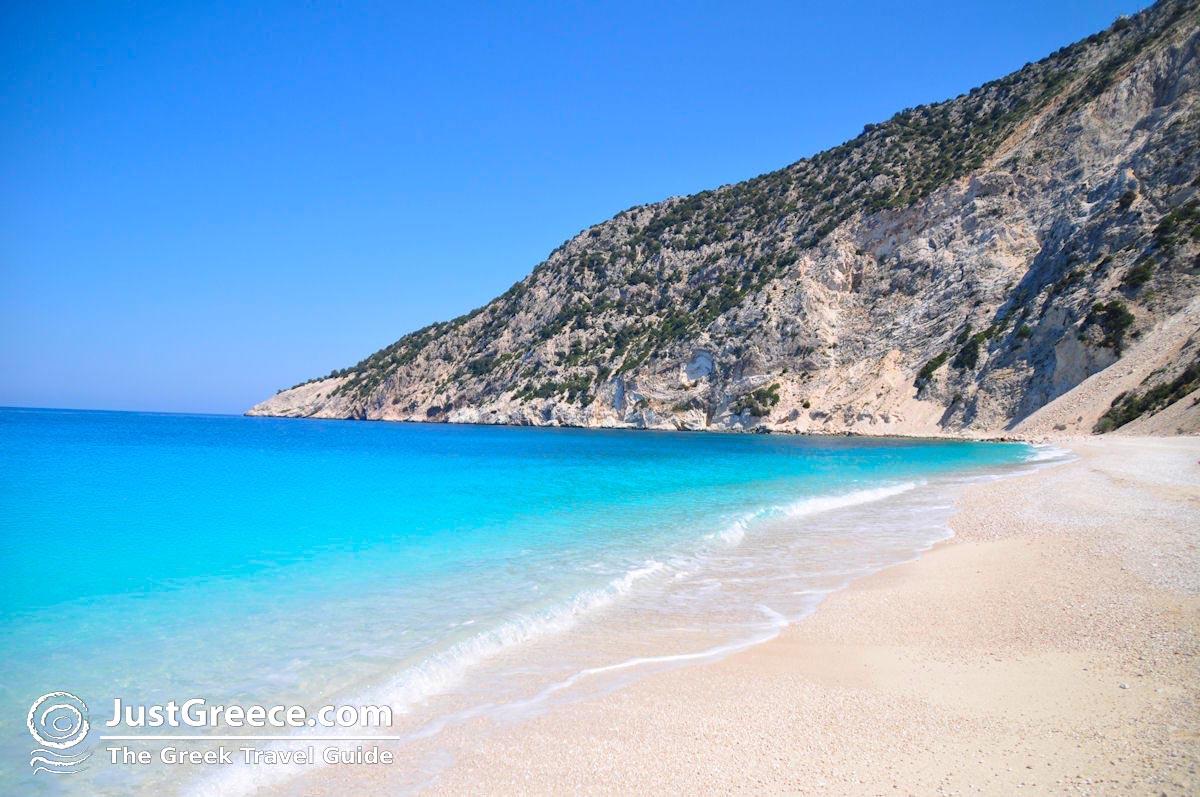 Justgreece Myrtos Beach Cephalonia Kefalonia Photo 54 Foto Van