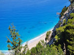 steile rocks at the beach of Egremni - Lefkada (Lefkas) - Photo JustGreece.com