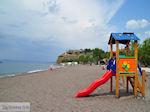 Kinderglijbaan at beach Anaxos - Photo JustGreece.com