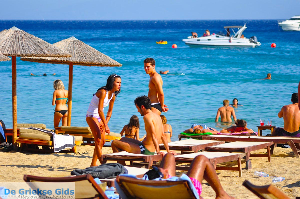 Paradise Beach Hotel Mykonos Greece