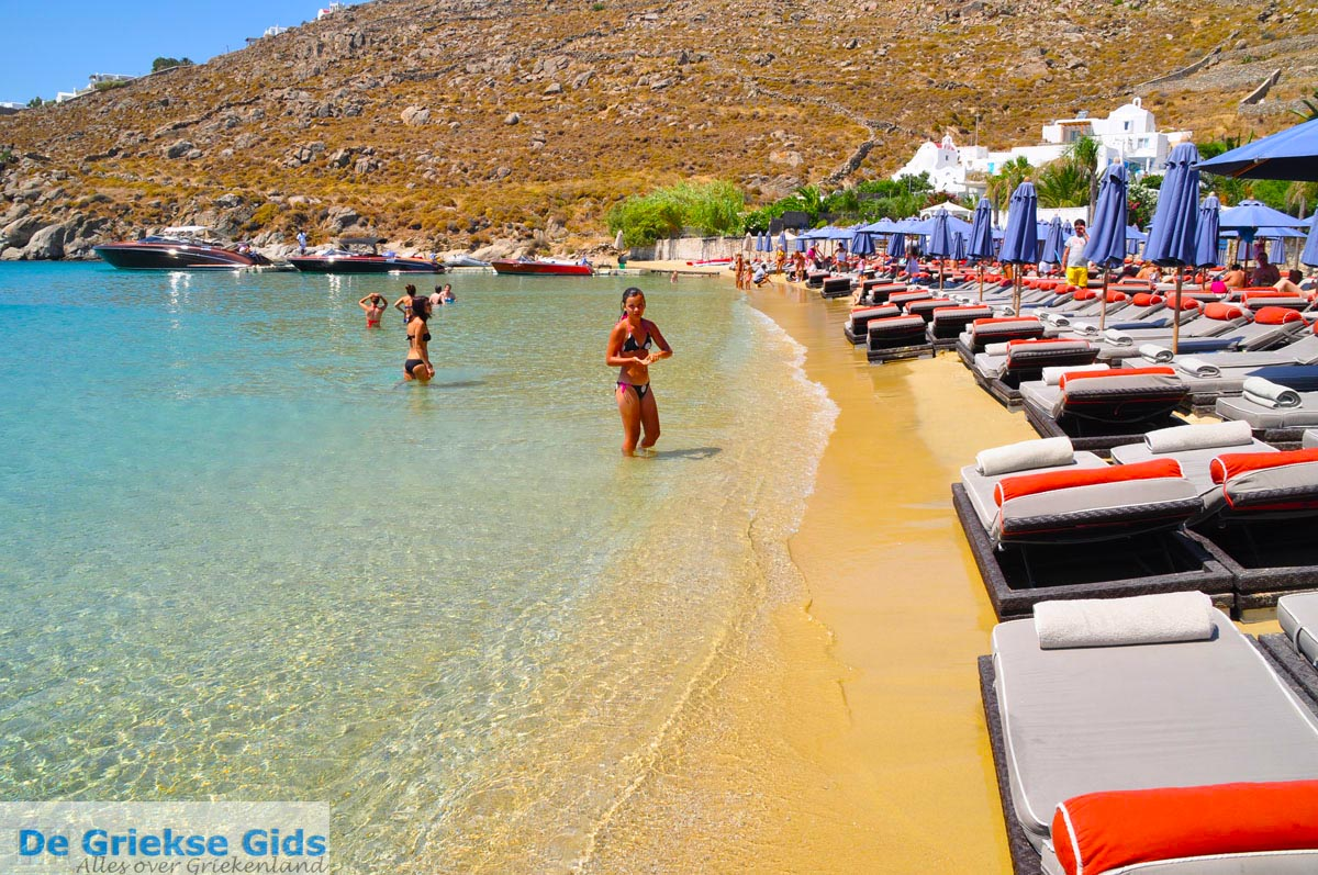Best Island Beaches For Partying Mykonos St Barts: Holidays In Psarou Greece
