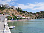 The beach at The harbour of Pythagorion - Island of Samos - Photo JustGreece.com