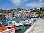 JustGreece.com Vissersbootjes aan The harbour of the schilderachtige Pythagorion - Island of Samos - Foto van JustGreece.com