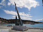 Pythagoras monument aan The harbour of Pythagorion - Island of Samos - Photo JustGreece.com