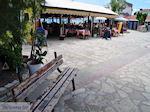 JustGreece.com Zitbankje villagesplein Heraion (Ireon) - Island of Samos - Foto van JustGreece.com