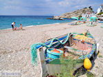 JustGreece.com Vissersbootje at the beach of Kokkari - Island of Samos - Foto van JustGreece.com