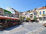 The gezellige Pythagoras Square of Samos town - Island of Samos - Photo JustGreece.com