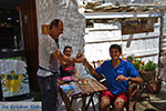 JustGreece.com Helena Soura and Manolis Katechakis near cafe Syrma Karavostasis Folegandros Photo 322 - Foto van JustGreece.com