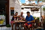 Helena Soura and Manolis Katechakis near cafe Syrma Karavostasis Folegandros Photo 328 - Photo JustGreece.com