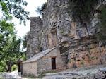Ingang Agia Paraskevi monastery  near  Monodendri - Zagori Epirus - Foto van JustGreece.com