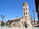 JustGreece.com Town hall Arnaia + kerktoren | Mount Athos Area Halkidiki | Greece - Foto van JustGreece.com