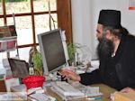 JustGreece.com Vader Ioakeim, werkzaam in the koeriers kantoor in Karyes (Athos) Photo 2 | Mount Athos Area Halkidiki | Greece - Foto van JustGreece.com