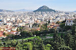 JustGreece.com The Lycabetus hill vanuit Pnyx Athens - Foto van JustGreece.com