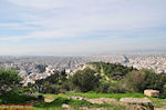 Panoramafoto: ten zuiden of Filopappou Athens - Photo JustGreece.com