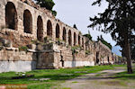 The Stoa of Eumenes naast the Herodes Atticus theater - Photo JustGreece.com