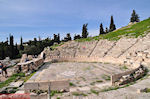 The oudste theater, the theater of Dionysos - Photo JustGreece.com