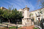JustGreece.com The Lysikrates-monument in Plaka Athens  - Foto van JustGreece.com