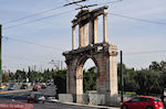 The Arch of Hadrian  in Athens (Attica) - Photo JustGreece.com