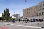 Duiven on the Plateia Syntagmatos - Syntagma Square - Photo JustGreece.com