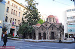 The beautiful  Church on the Kapnikarea  Square - Athens - Photo JustGreece.com