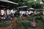 JustGreece.com Cafe-Restaurant Ydria at the Adrianou Str in Monastiraki Athens - Foto van JustGreece.com