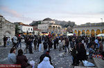 The drukke Monastirakiplein - Athene - Foto van JustGreece.com