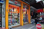 Kerstversieringen - Athinas street - Athens - Photo JustGreece.com