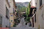 JustGreece.com Mnisikleous str - Plaka Athens - Anafiotika - at the voet of the Acropolis - Foto van JustGreece.com