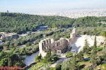 Panoramafoto: the zuidoosten of the Acropolis - Photo JustGreece.com