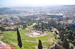 Panoramafoto: ten westen of the Acropolis hill - Photo JustGreece.com
