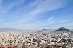 PanoramaPhoto Athens met rechts de Likavitos-heuvel - Photo JustGreece.com