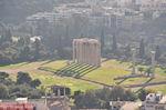 The tempel of Zeus Olympius vanop the Acropolis - Photo JustGreece.com