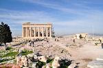 Beautiful weer on de Akropolis - Photo JustGreece.com