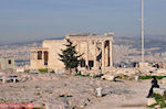 The Erechteion on de Akropolis - Photo JustGreece.com